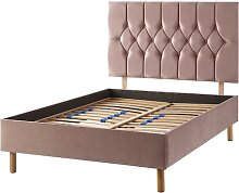 Boutique Upholstered Bed Frame Catherine Lansfield