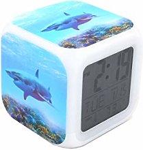 "BoWay 3""Desk & Shelf Clock Great White Shark"