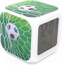 "BoWay 3""Desk & Shelf Clock Soccer Football Game"