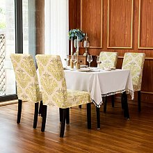 Box Cushion Dining Chair Slipcover Rosalind
