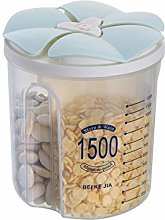 Box Seasoning Food Storage Tank, Sealed Plastic