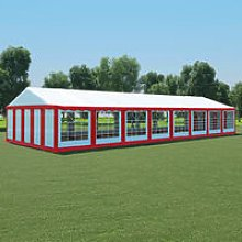 Boxborough 6m x 16m Steel Party Tent by Red -