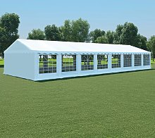 Boxborough 6m x 16m Steel Party Tent by White -
