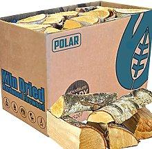 Boxed Kiln Dried Firewood - Premium 25cm Hardwood