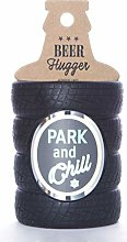 Boxer Gifts Park and Chill Tyre Shaped Beer Bottle