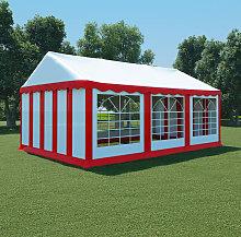 Boxford 4m x 6m Steel Party Tent by Red - Dakota