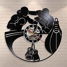 Boxing Gloves Punching Bag Infighters Vinyl Wall