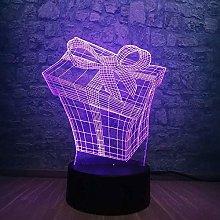 Boyfriend Christmas Gifts Bike Lights Led 3D Lamp