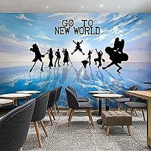 Boyijj Wallpaper Murals Anime One Piece Luffy