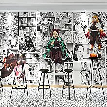 Boyijj Wallpaper Murals Cartoon Anime Ghost Slayer