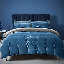 boys double duvet covers set-Winter thickened baby