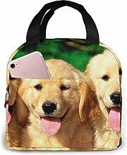 Boys Girls Insulated Neoprene Lunch Bag Dog Tote