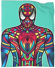 Boys Throw Blanket Spider Man Homecoming Dorm Bed