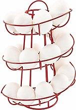 Bozaap Spiral Egg Basket,Egg Skelter Dispenser
