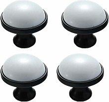 BOZONLI 4 Pack Ceramic Handles, Cupboard Handles,
