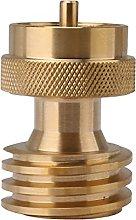 BQLZR Solid Brass Propane Adapter 1 to 20 LB