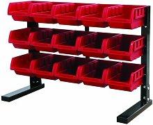 BR15F Storage Rack Solution 15 Bin - Hilka