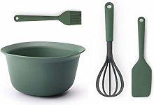 Brabantia 123207 Tasty+ Baking Set, Fir Green