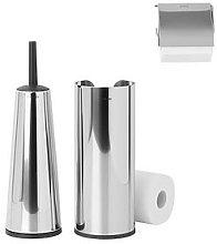 Brabantia 3 Piece Toilet Accessory Set - Brilliant