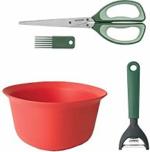 Brabantia Large Mixing Bowl + Herb Scissors Plus