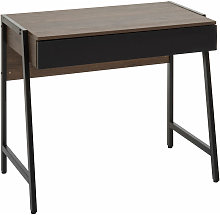 Bradbury Dark Oak Veneer Desk - Premier Housewares
