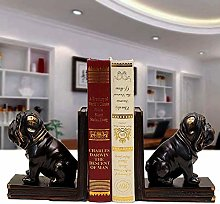 Bradoner Creative Resin Sharpei Dog Bookend