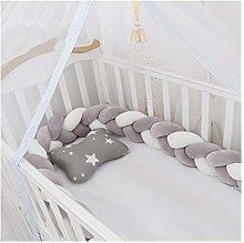 Braided Crib Bumper Baby Bed Bumper Newborn