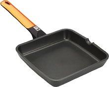 Braisogona Efficient Aluminium Square Grill Pan