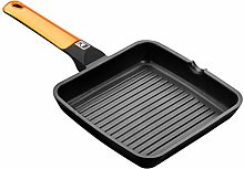 Braisogona Efficient Aluminium Square Ribbed Grill