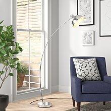 Brandie 160cm Arched Floor Lamp Zipcode Design