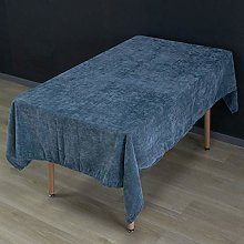 Brandless Solid Color Tablecloths Chenille Fabric