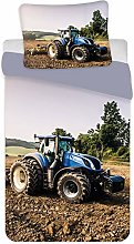 BrandMac ApS Tractor Baby Bedding Set 100x135