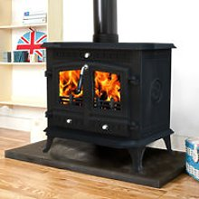 Branston 12KW Cast Iron Log Burner MultiFuel