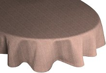 Branton Tablecloth Brayden Studio Colour: Brown