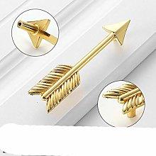 Brass Cabinet Handle Creative Gold Door Knobs and