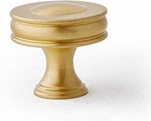 Brass Cabinet Knobs Drawer Kitchen Cupboard