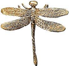 Brass Drawer Pull Knob Gold Cabinet Dreeser