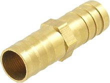 Brass Equal Straight Barb Connector Tube Fitting
