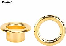 Brass Metal Durable Gold Hollow Hole Rivet