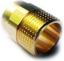 Brass Plumbing Fittings For Solder With Copper