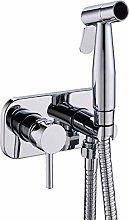Brass Toilet Hot Cold Bidet Spray Handheld Bidet