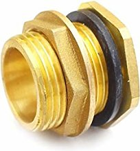 "Brass Water Tank Connector 1/2"" 3/4"""