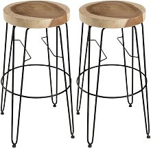 Braswell 74cm Bar Stool Union Rustic