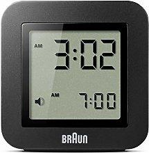 Braun–Digital Alarm Clock Colour Black