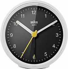 Braun Alarm Clock, White-Black, Normal