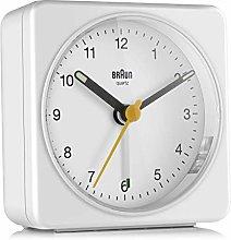Braun Alarm Clock, White, Normal