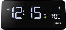 Braun Alarm Clock with Wireless Charging Pad -