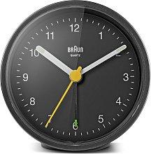 Braun Classic Analogue Alarm Clock - Black