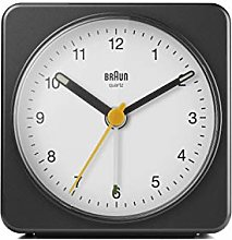 Braun Classic Analogue Alarm Clock with Snooze and