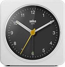 Braun Classic Analogue Alarm Clock with Snooze and